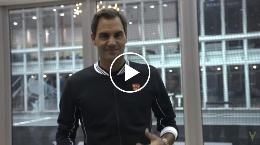 Roger Federer plays tour guide - Laver Cup
