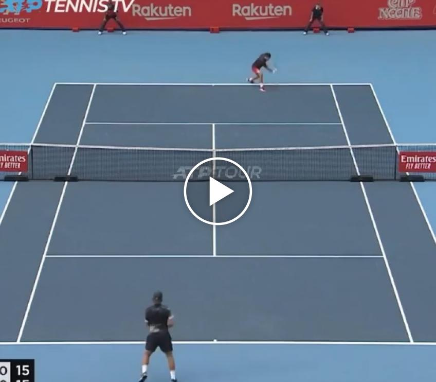 Djokovic vs Pouille - Best Points