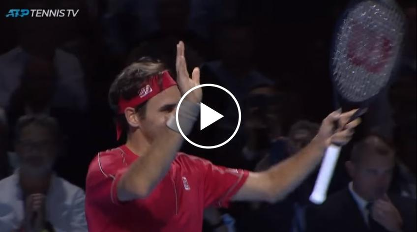 Federer beat Gojowczyk - MATCH POINT