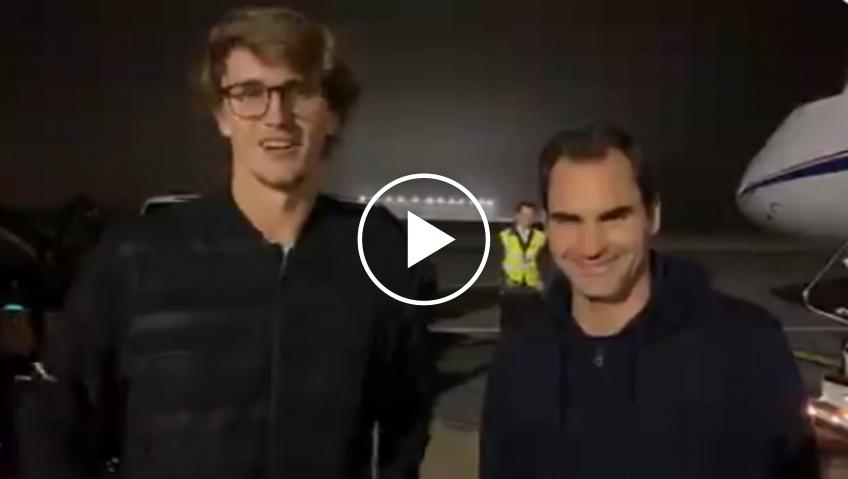 Federer and Zverev depart together to Argentina