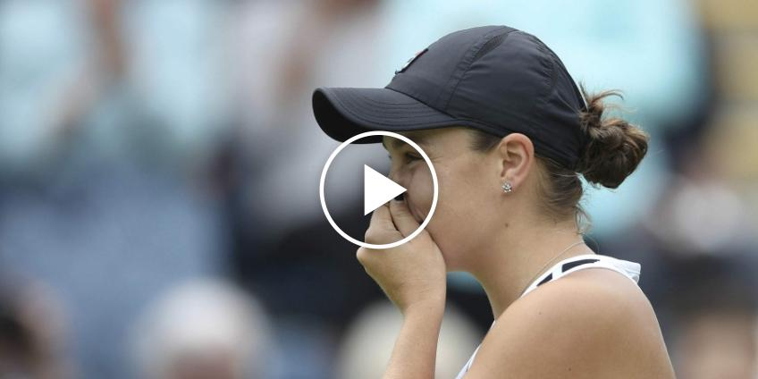 Watch Ash Barty's Reaction to Her First Marriage Proposal in Adelaide