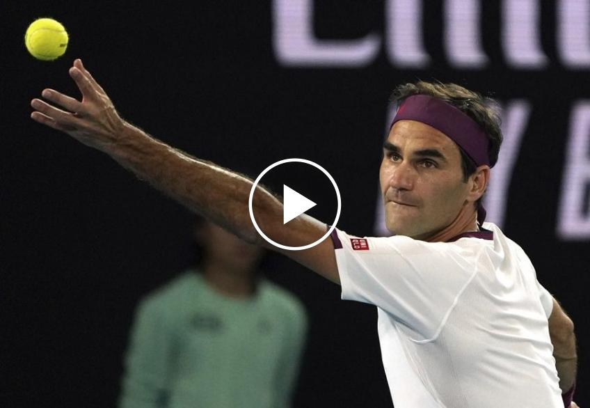 Roger Federer vs. Marton Fucsovic: the match point