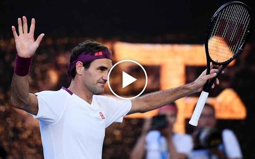 Roger Federer's 7 match points saved against Sandgren