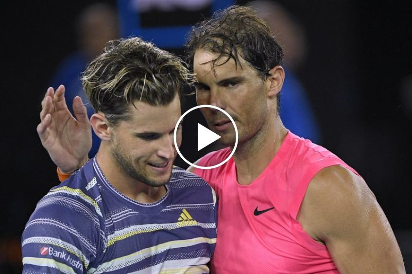 Watch: No accred, no entry for Rafa Nadal shortly before his QF showdown with Thiem!