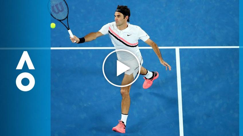Roger Federer and Other Tennis Stars in New Campaign to Annonce 'Australia is Open'