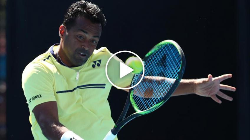 Leander Paes Gets Emotional As He Talks About Playing in India for the Last Time