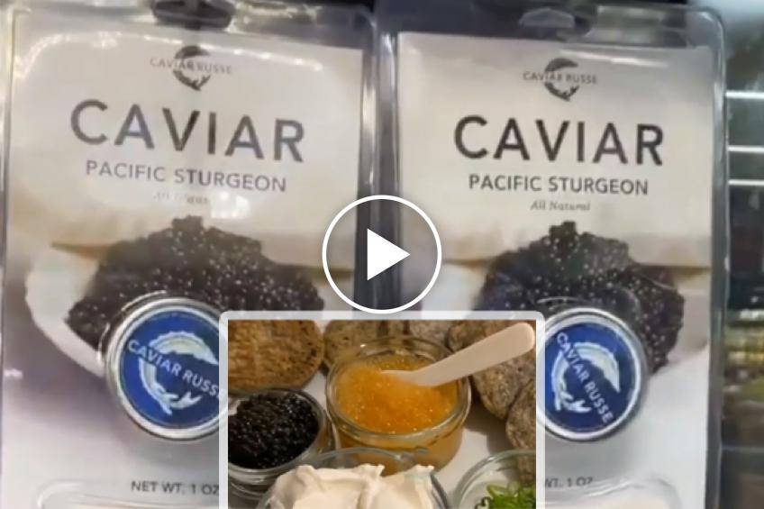 Serena Williams can't decide which caviar to buy