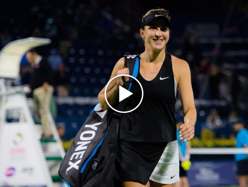 "Belinda Bencic: ""We are friends with Sofia Kenin even off the court"""