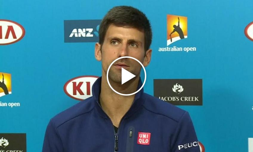 When Novak Djokovic was (wrongly) accused of match-fixing