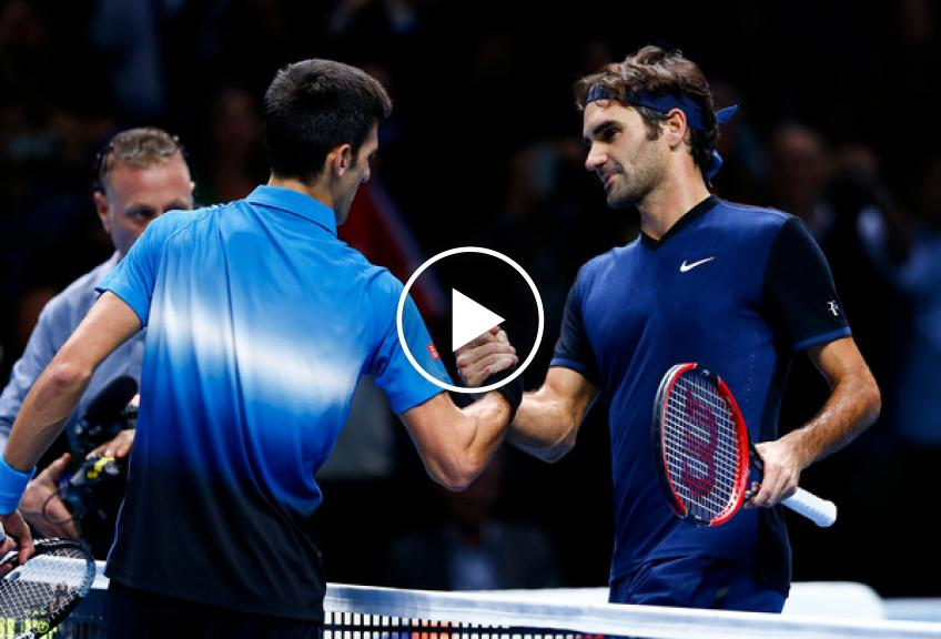 The Five times Djokovic beat Roger Federer and Nadal in the same event