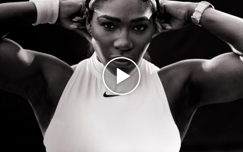 Serena Williams in Nike's inspirational International Women's Day Video