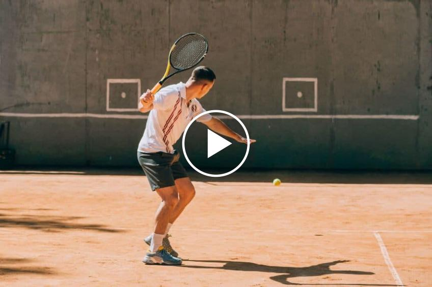 Jalena Mayer Shows Tennis Fans a Unique Way to Play Tennis at Home
