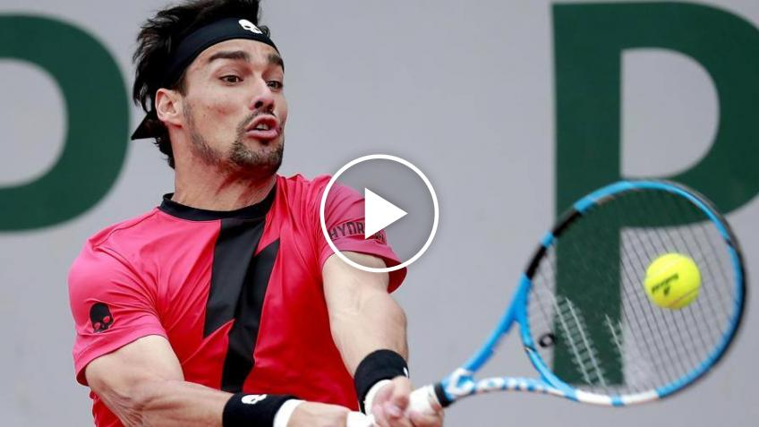 Fabio Fognini Swaps His Tennis Racket for the Vacuum Cleaner