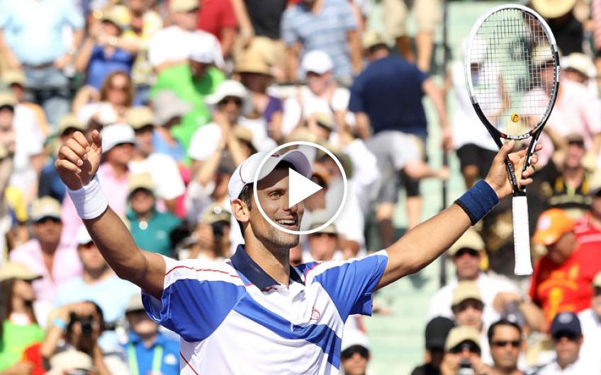Novak Djokovic's iron year: the 2011 super victory in Miami against Nadal