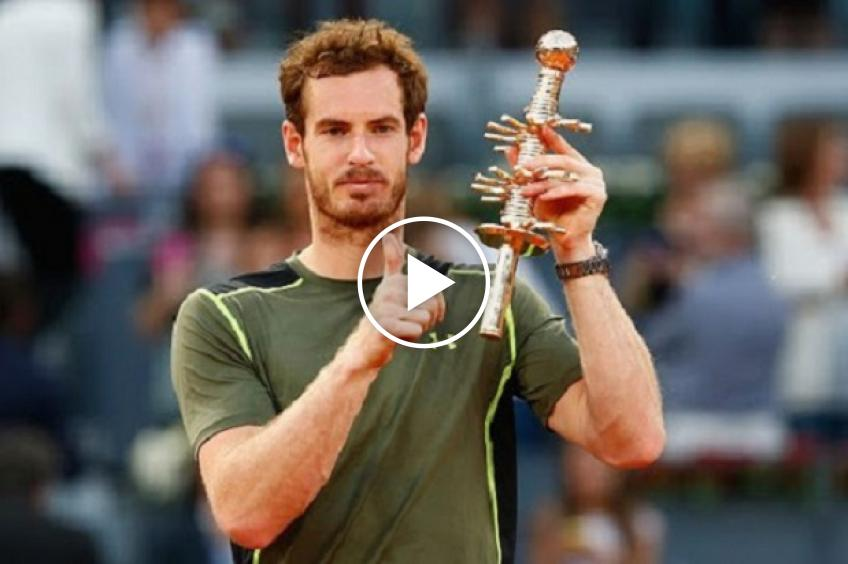 Madrid Memories: Andy Murray, the atypical winner