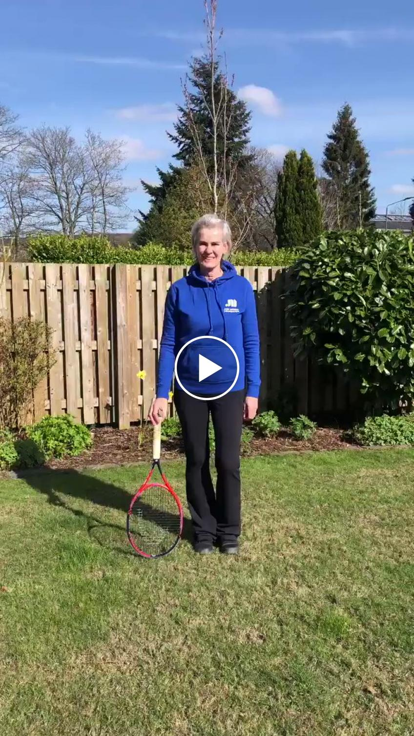 Can you do the Judy Murray Foundation 13 Step Head-to-Toe Racket Challenge?