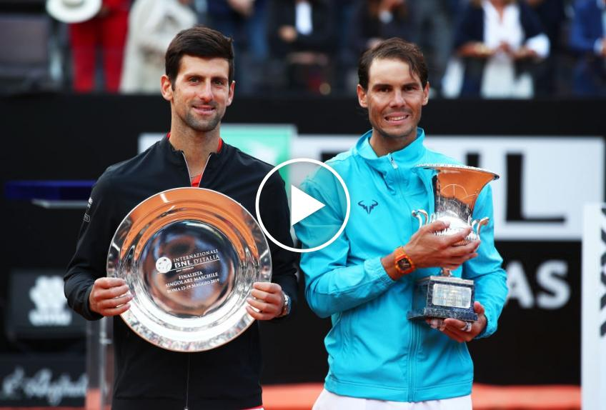 Rafael Nadal vs Novak Djokovic's best final in Rome