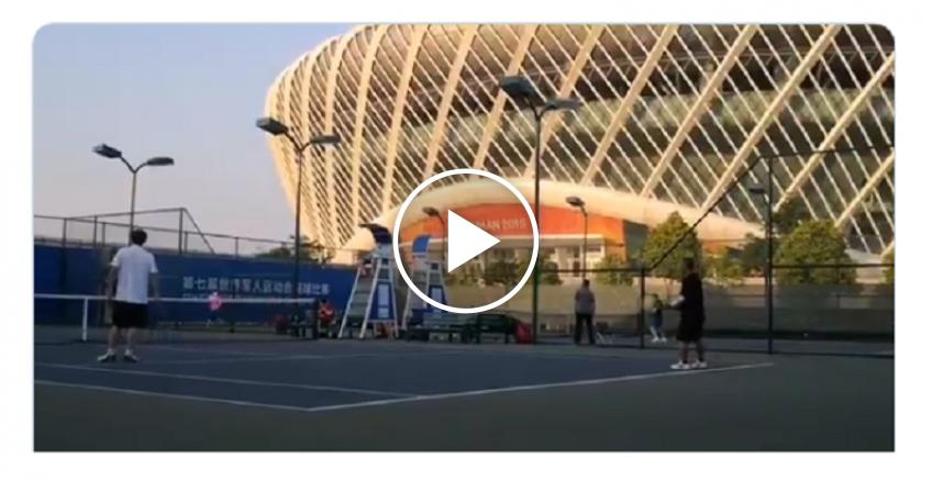 In Wuhan, light shines at the end of tunnel as tennis resumes