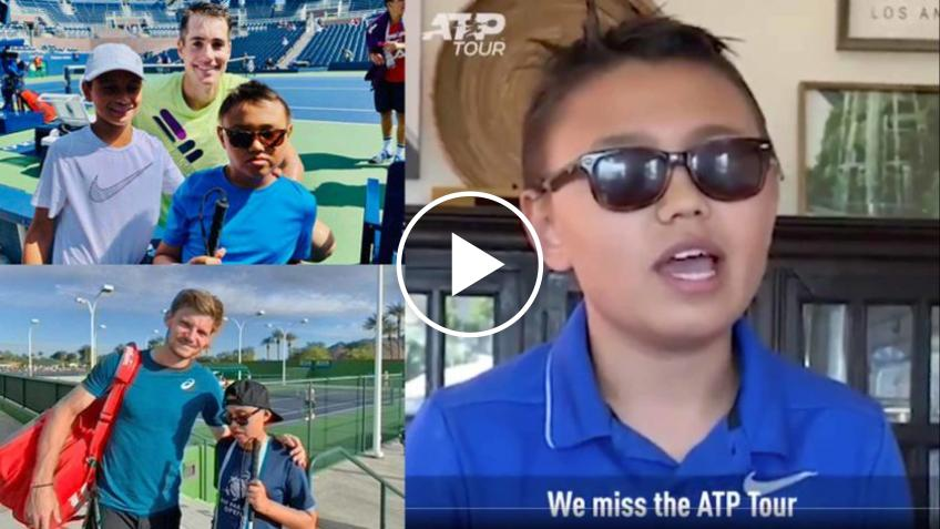 12 year old tennis fan writes a song about missing tennis on the ATP Tour