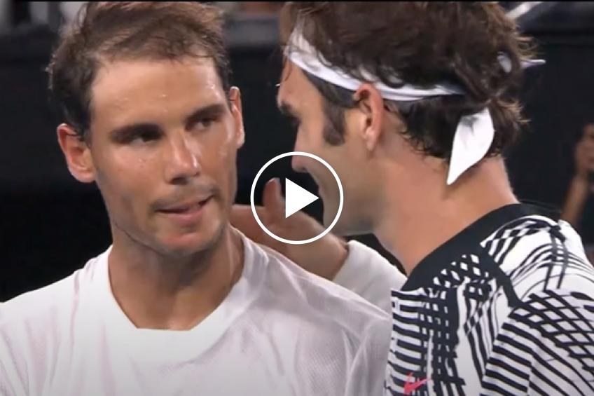 Trailer featuring Roger Federer and Rafael Nadal will give you goosebumps