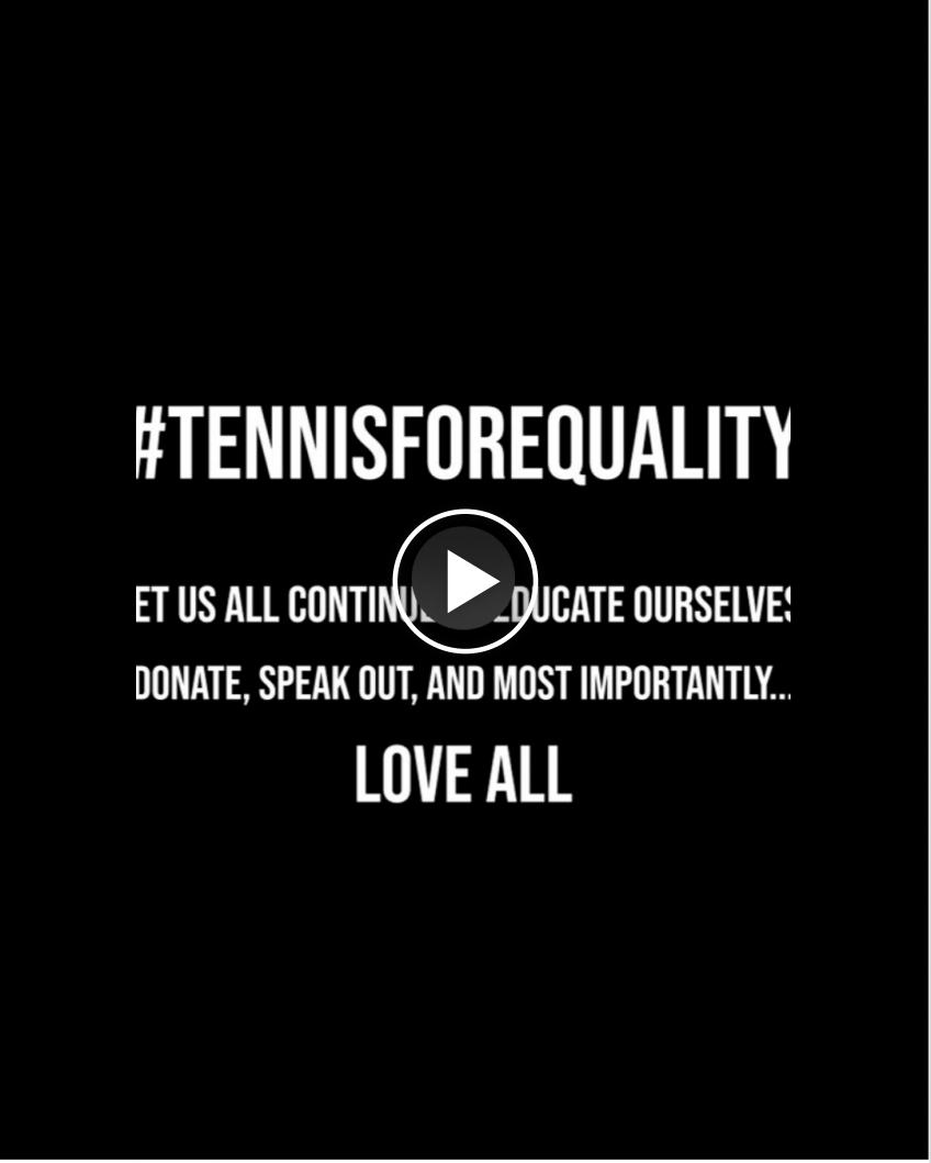 Frances Tiafoe & other tennis stars take a stand against racism: Enough is enough