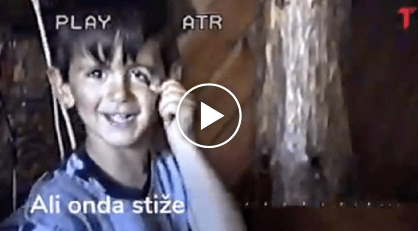 Novak Djokovic shares video of himself as a 4 year old: Look at my face