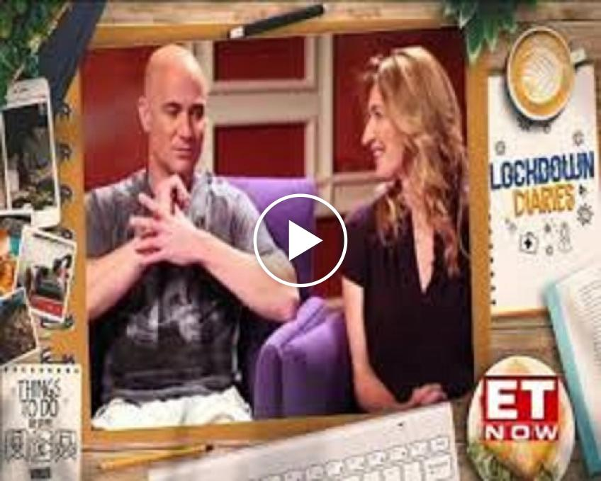 Andre Agassi on the lockdown: I've found out my wife really does love me