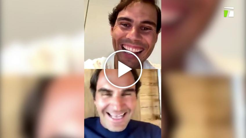 Roger Federer, Rafael Nadal, Serena Williams feature in 'Rallies & Remixes at Home'