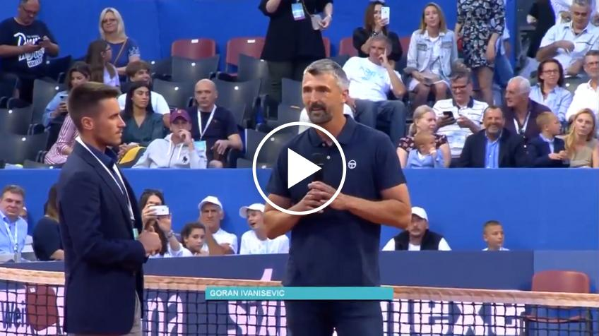 Ivanisevic's last famous words: I'm not positive, I'm sorry you are booing me