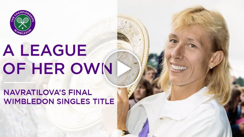 Chris Evert recalls Martina Navratilova's ninth and final Wimbledon singles title