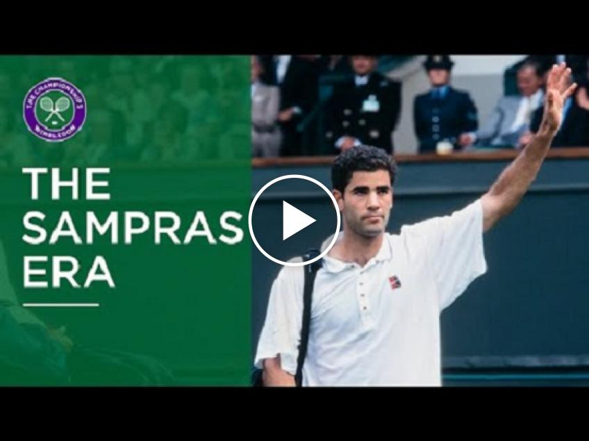 Wimbledon celebrates 'The Sampras Era' with short film narrated by Andy Roddick