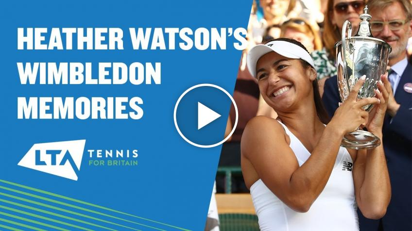 Heather Watson speaks about her favourite Wimbledon memories