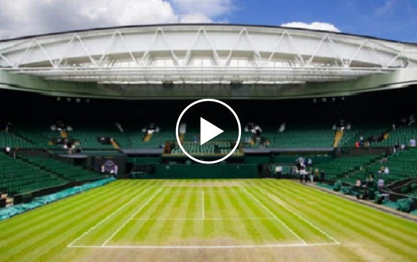 Watch Wimbledon's video on Middle Sunday 'No need for 'quiet, please' this year'