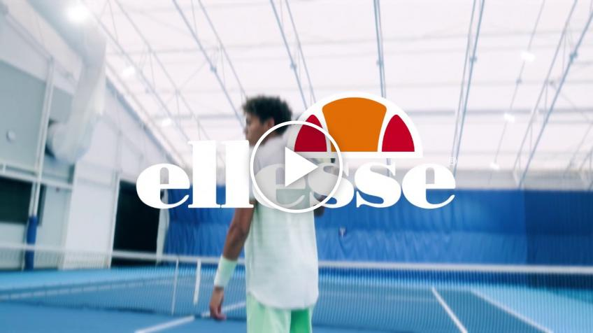 British sports apparel company Ellesse signs rising British tennis player Paul Jubb