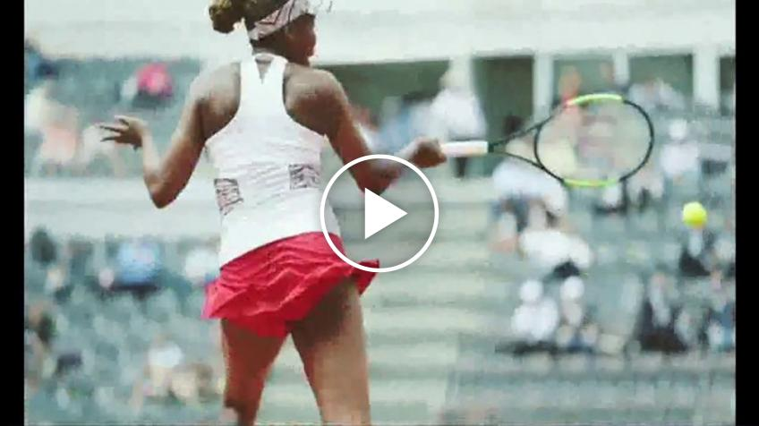 Watch the first national TV commercial for Venus Williams' EleVen brand