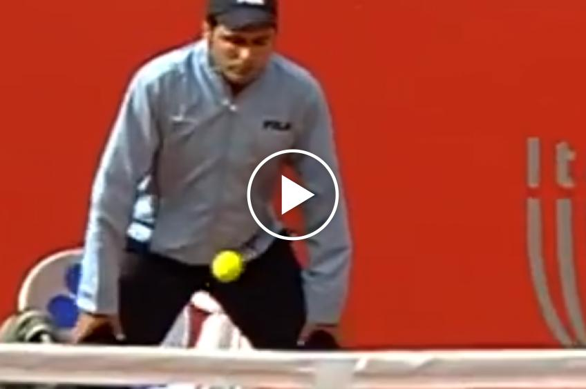43 dangerous times when tennis judges got shot on the court