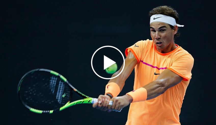 Rafael Nadal's one best shot for every career year!