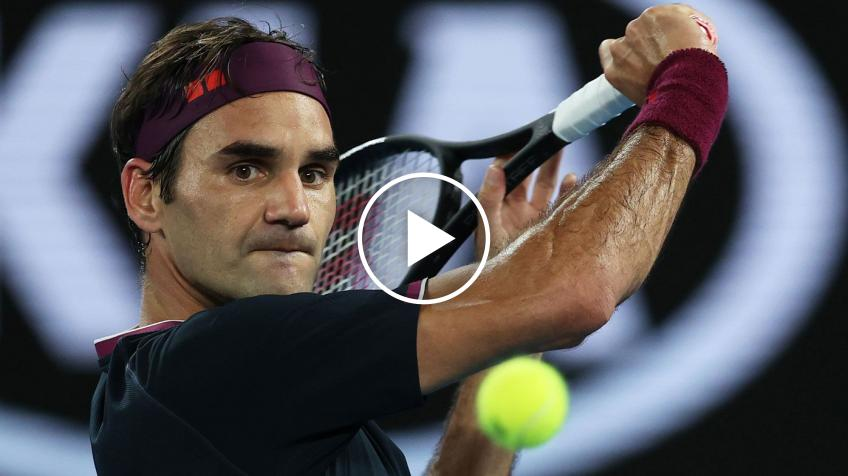 'Roger Federer showed us a video in which he dribbles...', says rooftop tennis girl