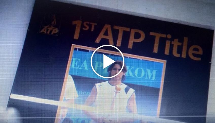 Rafa Nadal Academy releases video to commemorate his first ATP Tour title win