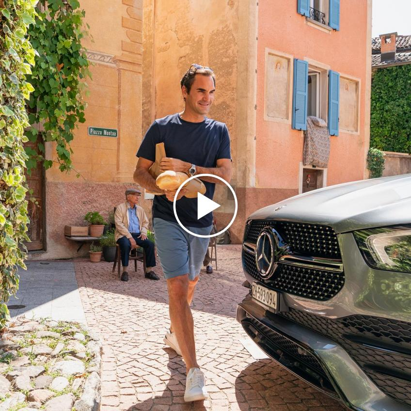 Roger Federer's new commmerical for Mercedes Benz