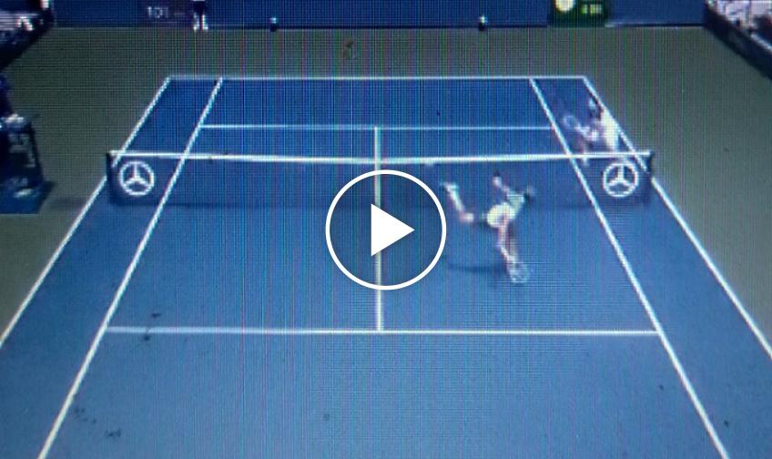 How did he do it? Watch Alejandro Davidovich Fokina's incredible winner at US Open