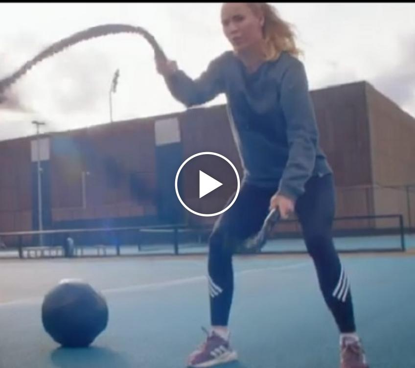 Caroline Wozniacki talks about overcoming her chronic illness