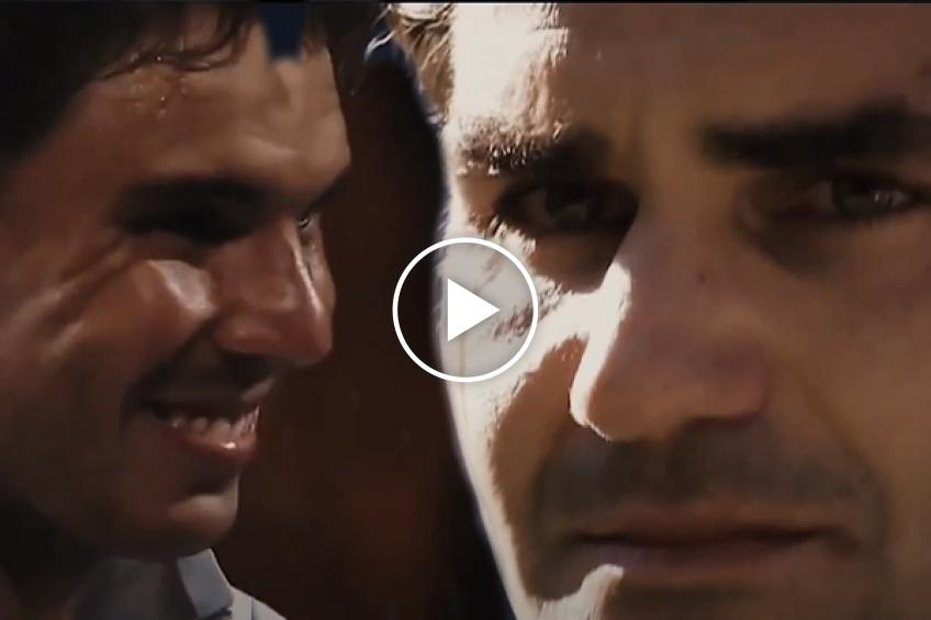 "Emotional Roger Federer and Rafael Nadal moments on Sheeran's ""Photograph"" song"