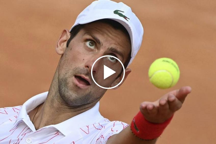 ATP Rome: NERVOUS Novak Djokovic reached the semifinal