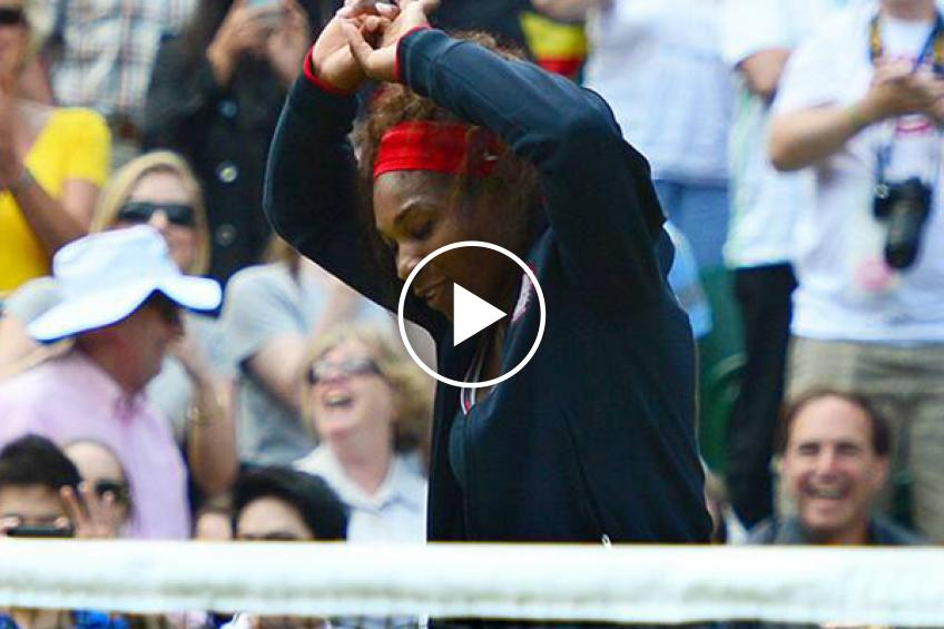 Serena Williams wants dance-offs at the end of tennis matches