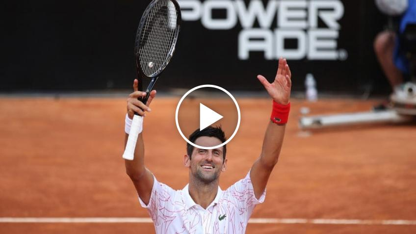 ATP Rome: Novak Djokovic vs Casper Ruud's highlights