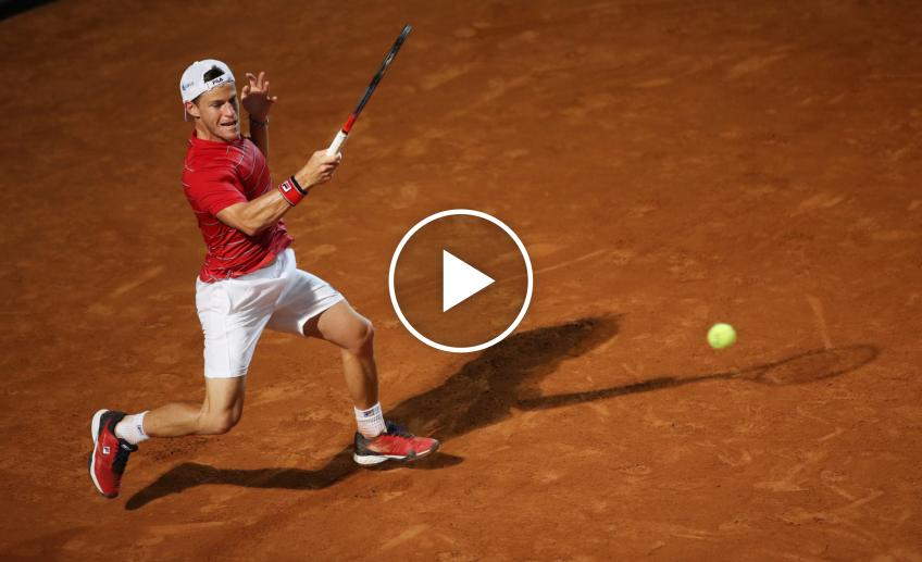 ATP Rome: Diego Schwartzman's UNREAL winner against Djokovic