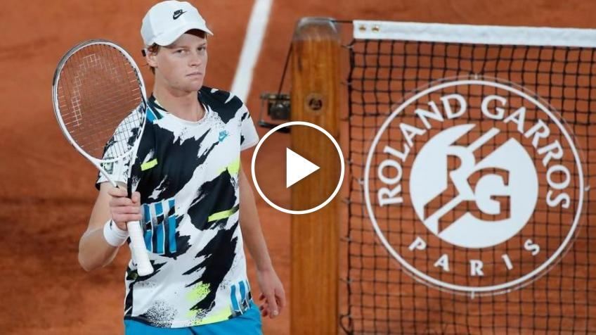 Roland Garros 2020: Jannik Sinner's AMAZES Goffin with a super-winner