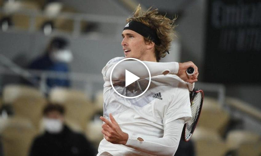 Roland Garros 2020: Alexander Zverev's CLASSY match-point (with thrill ...)