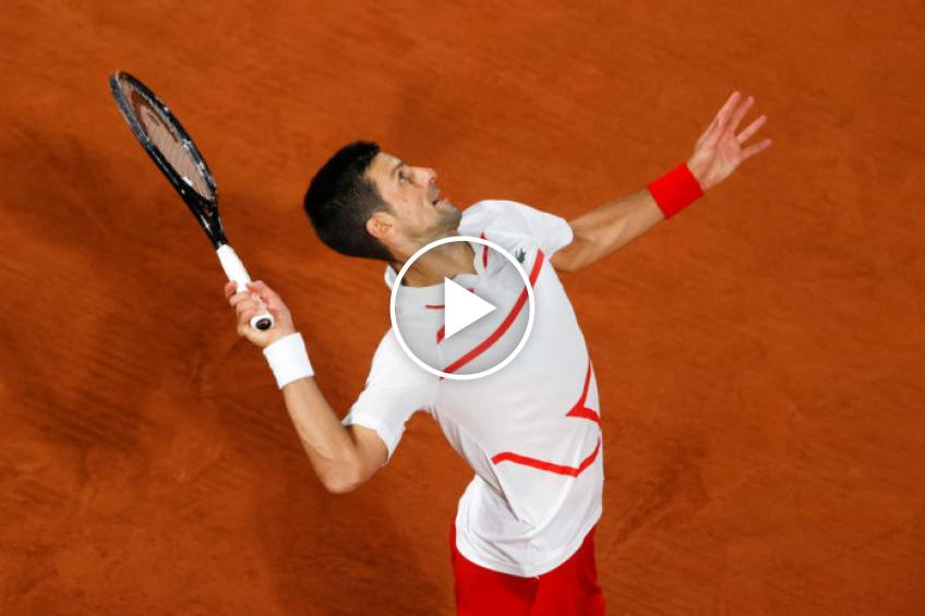 Roland Garros 2020: Novak Djokovic vs Ricardas Berankis' highlights